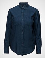 Mango Cotton Linen-Blend Shirt