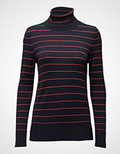 Saint Tropez Knit Blouse With Stripes