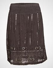 Cream Luxa Skirt