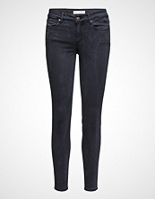 Odd Molly Stretch Blueblack Cropped Jean