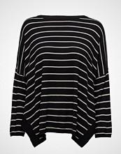 Mango Striped Cotton-Blend Sweater