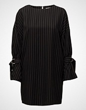 Mango Pinstripe Print Dress