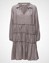 Rabens Saloner Gathered Flare Dress