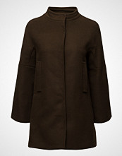 Mango Unstructured Wool Coat
