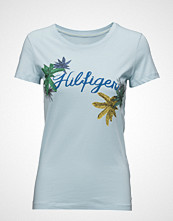 Tommy Hilfiger Inj Placement Palm Leaf Prt Tee Ss