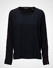 Maison Scotch Silky Feel Top With Sport Inspired Tapes
