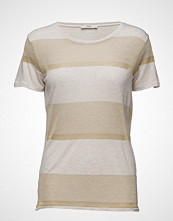 Stig P Robyn T-Shirt With Lurex Stripe Details