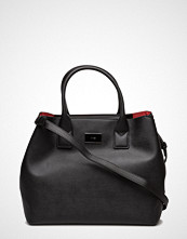 Mango Saffiano-Effect Tote Bag