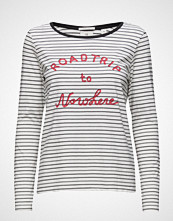 Maison Scotch Long Sleeve Tee With New Travel Themed Artworks