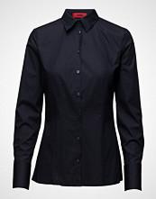 HUGO Etrixe1 Langermet Skjorte Blå HUGO