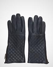 MJM Mjm Glove Lucille W Quilted Sheepskin Navy