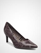 Tamaris Woms Court Shoe - Cabbage