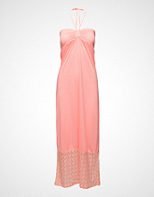 Saint Tropez Smock Jersey Dress With Lace