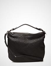 Decadent Woven Flat Shoulder Bag