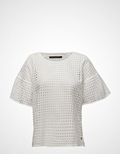 Coster Copenhagen Square Lace Top W. Short Sleeve