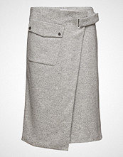 Filippa K Wrap Pocket Wool Skirt