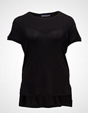 Violeta by Mango Ribbed Side Slit T-Shirt