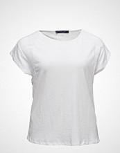 Violeta by Mango Contrasting Cotton-Blend T-Shirt
