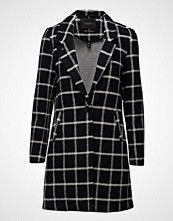 Scotch & Soda Bonded Wool Coat In Checks & Solids