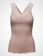 Rosemunde Silk Top Regular W/ Feminin Lace