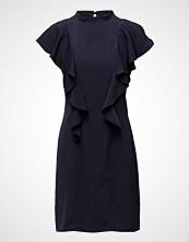 Saint Tropez Ruffle Dress With High Neck