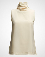 French Connection Polly Plains S/Lss High Nk Top