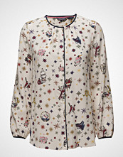 Tommy Hilfiger Renee Silk Blouse Ls Hg