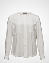 Violeta by Mango Chest-Pocket Flowy Blouse