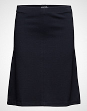 Filippa K Clean Jersey Skirt Knelangt Skjørt Blå FILIPPA K