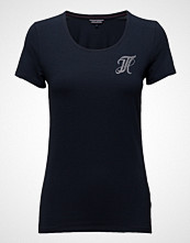 Tommy Hilfiger Lizzy Round-Nk Top Ss