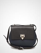 Decadent Tiny Round Satchel Bag W/Buckle
