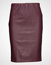 Saint Tropez Faux Leather Skirt