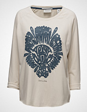 Maison Scotch Loose Fitted Sweat With A Cutted Hem