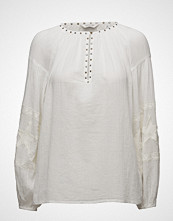 Maison Scotch Sheer Cotton Tunic Top With Special Embroideries