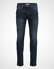 Mango Man Slim-Fit Dark Wash Tim Jeans