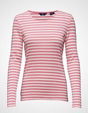 Gant 1x1 Rib Striped T-Shirt Ls