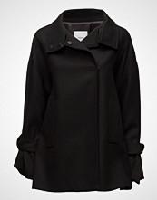 Mango Bow Wool Coat