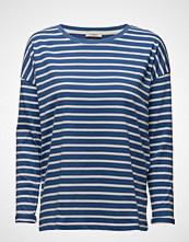 Lee Jeans Ls Stripe Tee Workwear Blue