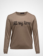 Violeta by Mango Fine-Knit Metallic Sweater