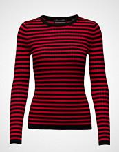 Scotch & Soda Long Sleeve Striped Knit In Rib Quality