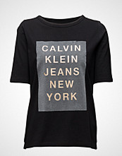 Calvin Klein Trix-3 Cn Straight Fit Tee Ms