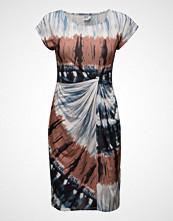 Saint Tropez Jersey Knot Dress W Print