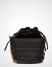 Mango Mini Leather Bucket Bag