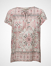 Odd Molly Backb Blouse Bluse Kortermet Rosa ODD MOLLY