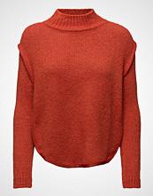 Mango Textured Panel Sweater