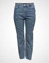 Violeta by Mango Mom-Fit Desi Jeans
