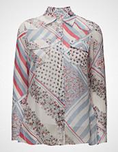 Tommy Hilfiger Silk Chiffon Printed Blouse Gigi Hadid