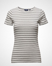 Gant Striped Rib S.S. T-Shirt