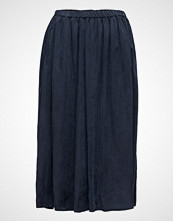 Maison Scotch Longer Length Drapey Cupro Skirt