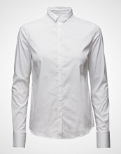 Mos Mosh Tilda Shirt Langermet Skjorte Hvit MOS MOSH